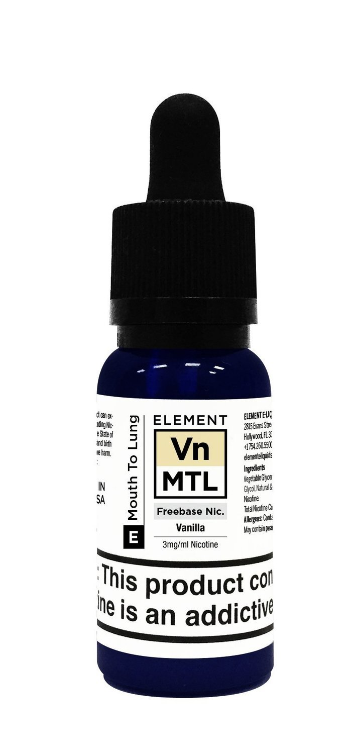 ELEMENTS MTL: VANILLA 20ML