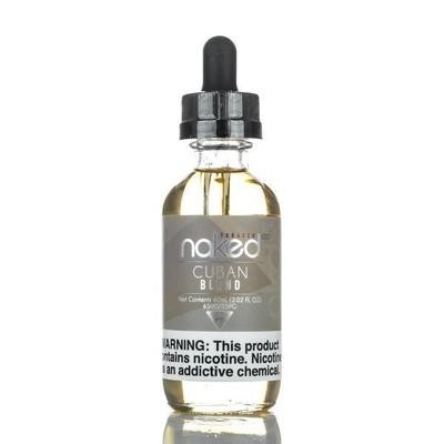 ЖИДКОСТЬ NAKED 100 TOBACCO: CUBANO BLEND 60ML