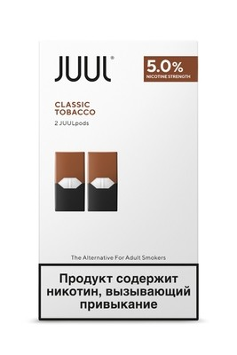 JUUL: СМЕННЫЙ КАРТРИДЖ ТАБАК X2