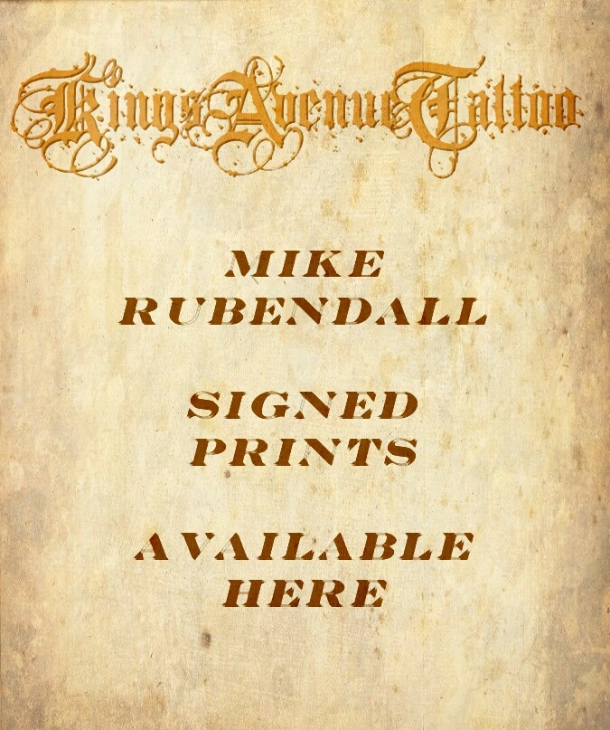 Signed Prints: Mike Rubendall 00028