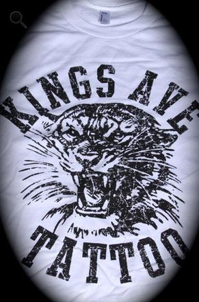 KA Tiger T-Shirt: White 00009