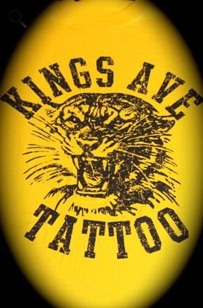KA Tiger T-Shirt: Yellow 00010
