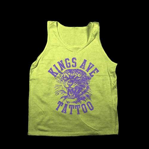 *Limited Edition* Tiger Tank: Neon Yellow & Purple 00032