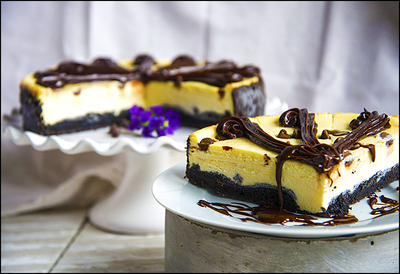 Black Bottom Cheesecake