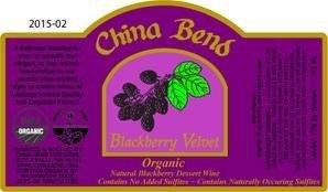 Blackberry Velvet Dessert Wine