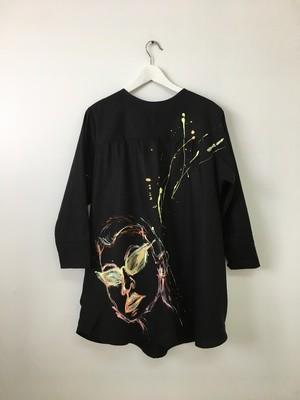 LINEN BLACK DRESS #2