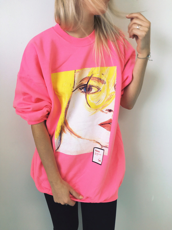 BADASS - PINK / US$55,00