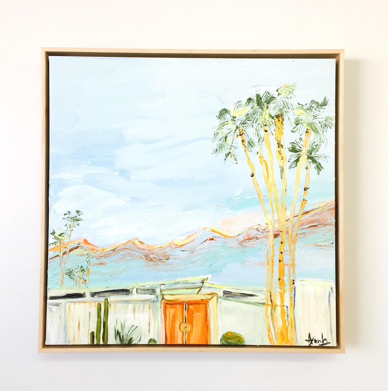 """VINTAGE LADIES, Palm Springs(20""""x 20"""")"""