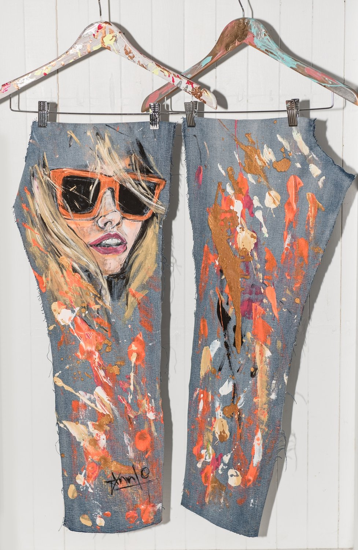 Pantalon ANNLO X JAXNJOE  *VENDU*  / *SOLD*