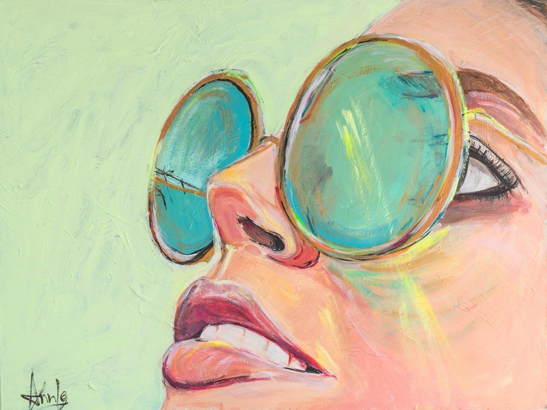 Traveling dreamer (40 x 30') *VENDUE*sold*