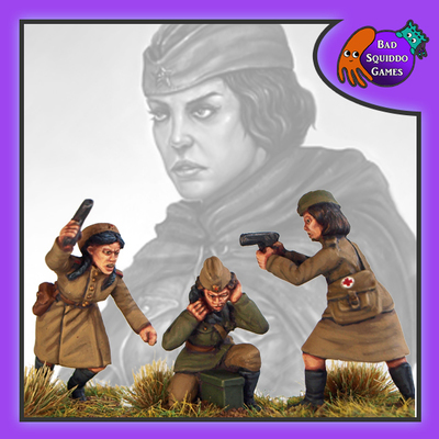 Female Soviet Command - Officer - Medic - Radio (3)