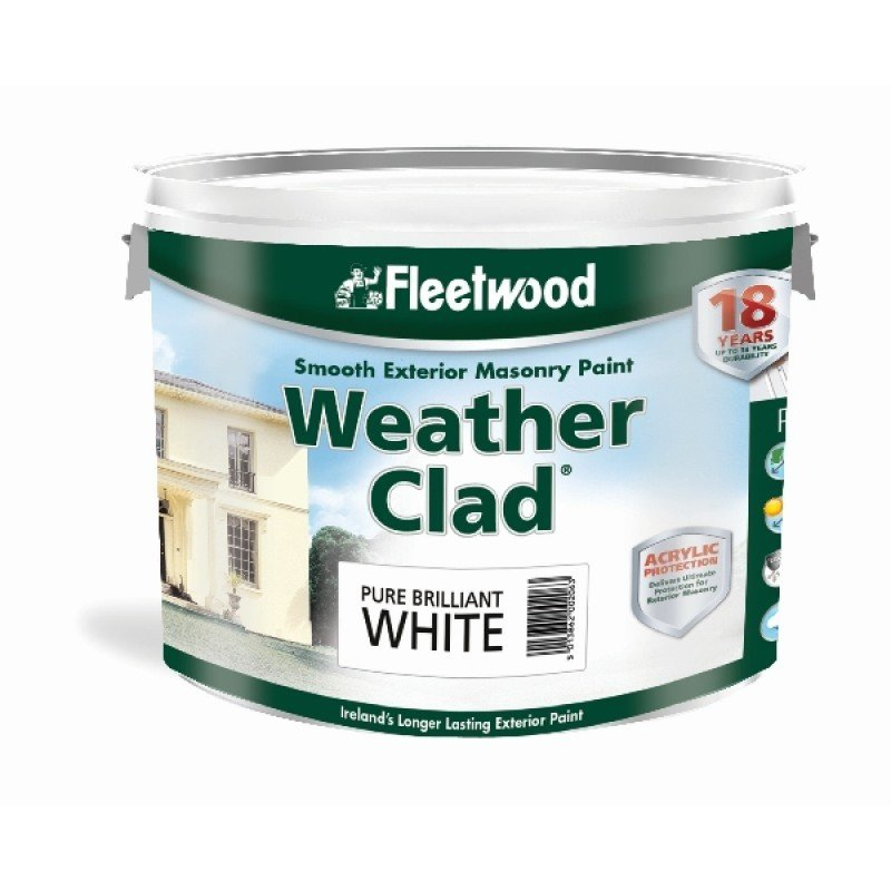 Fleetwood Weather Clad Smooth Masonry Paint