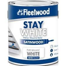 Fleetwood Stay White Satinwood
