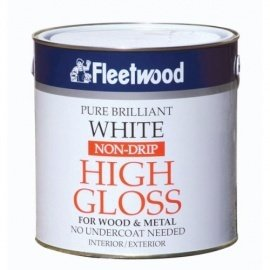 Fleetwood Gloss Non Drip Brilliant White