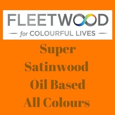 Fleetwood Satinwood Oil Based Mixed Colours