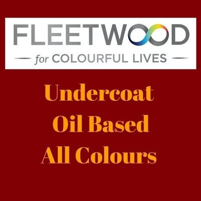 Fleetwood Undercoat Oil Based Colours