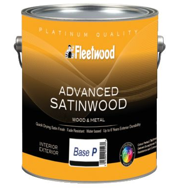 Fleetwood Advanced Satinwood All Colours