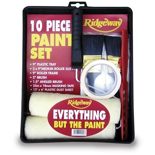 Ridgeway Everything but the Paint Set - 10 Piece