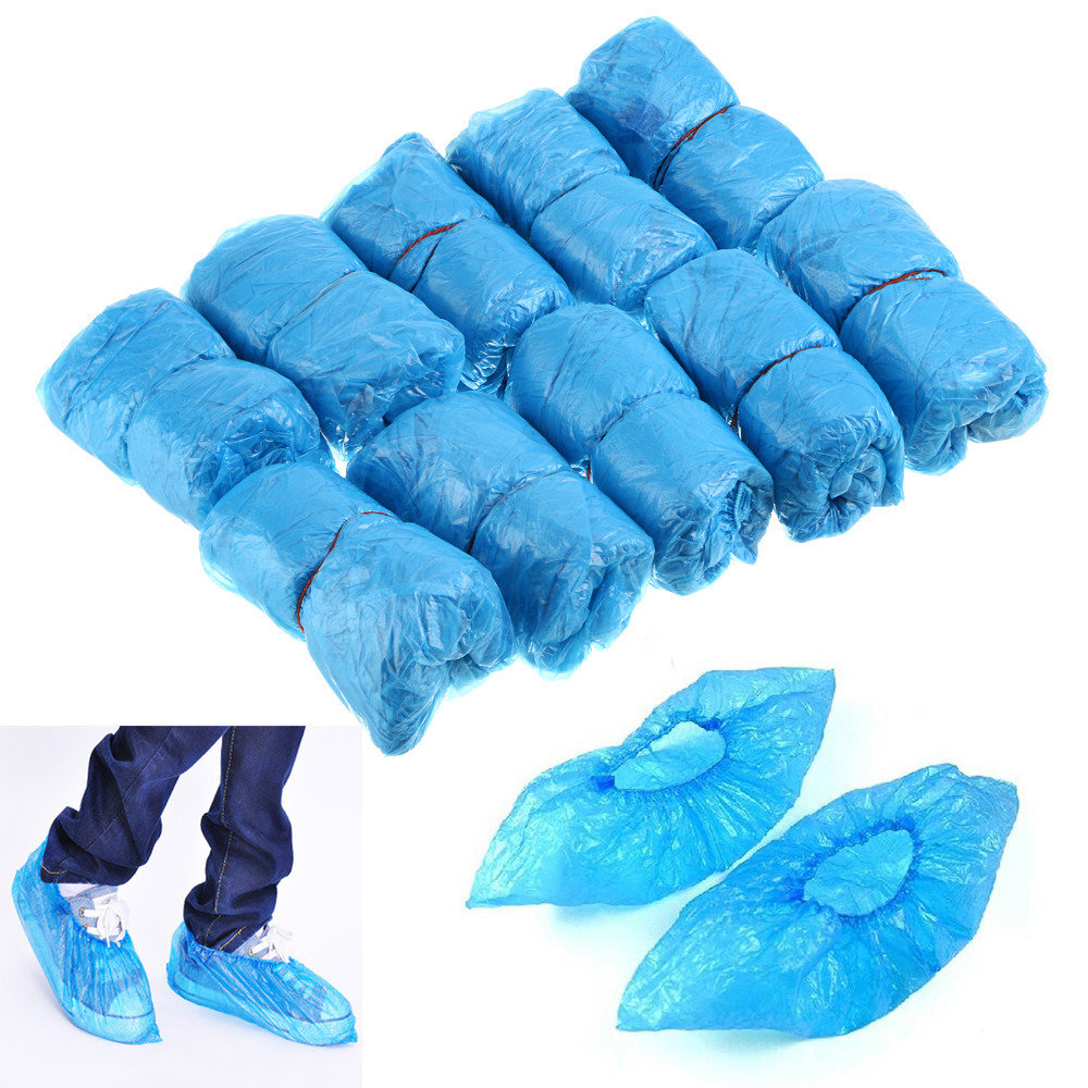 Plastic Disposable Shoe Covers