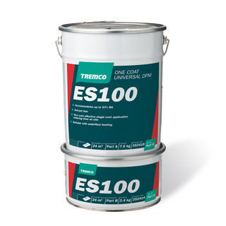 Tremco ES100 Single Coat DPM 10KG & 25KG Packs