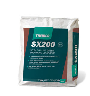 TREMCO SX200 GENERAL PURPOSE SMOOTHING COMPOUND 25KG
