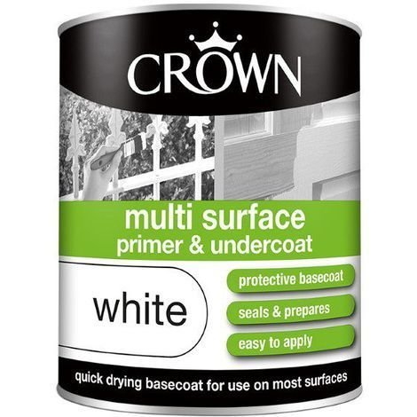 Crown Multi Surface Primer & Undercoat White