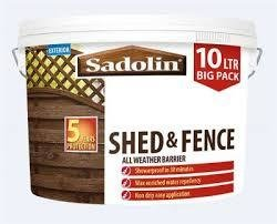 Shed & Fence paint 10ltr