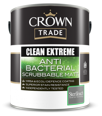 CLEAN EXTREME ANTI-BACTERIAL SCRUBBABLE MATT 5LTR