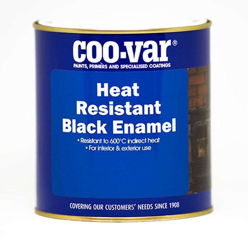Heat Resistant Black Enamel 1Ltr