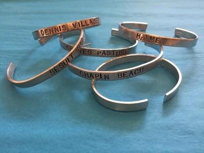Cape Cod Aluminum Cuff Bracelets