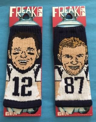 Tom Brady & Rob Gronkowski Coozies