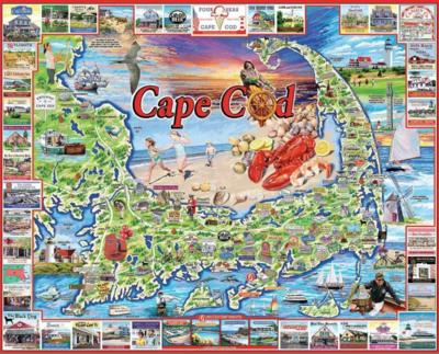 Cape Cod 1000 Piece Jigsaw Puzzle