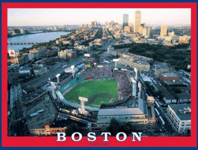 Boston - Fenway Park 550 Piece Jigsaw Puzzle