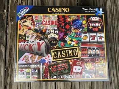 Casino 550 Piece Jigsaw Puzzle