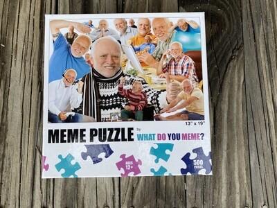 Meme Puzzle:  What Do You Meme?