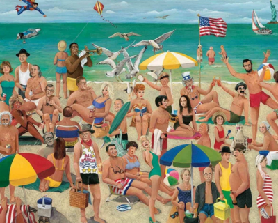 What A Beach 1000 Piece Jigsaw Puzzle