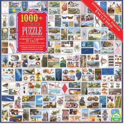 Curiosity Cabinet 1000 Piece Eebo Jigsaw Puzzle