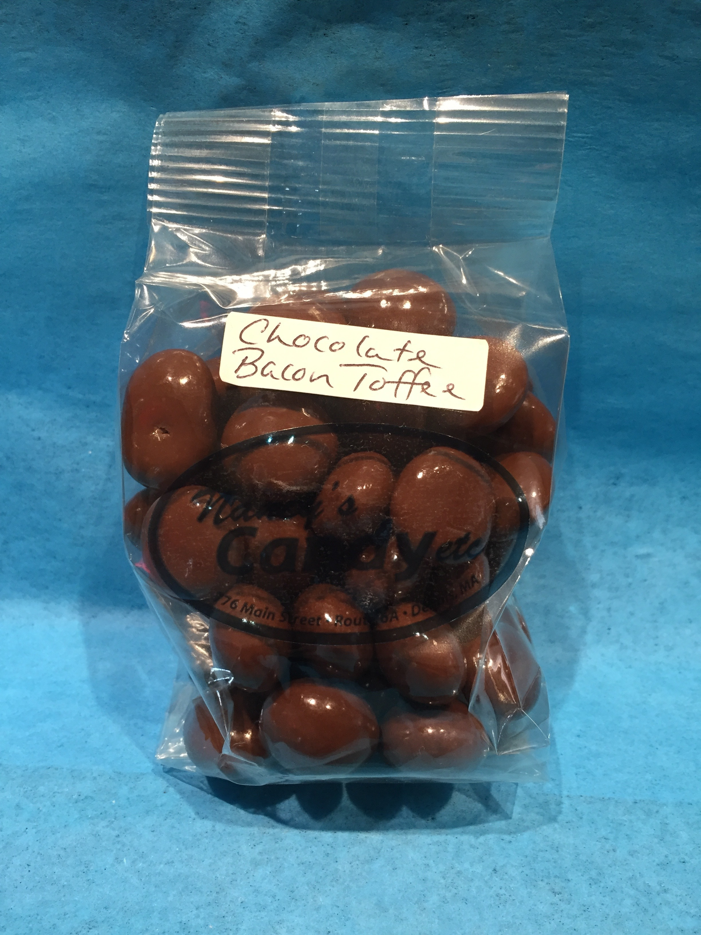 Chocolate Bacon Toffee Balls