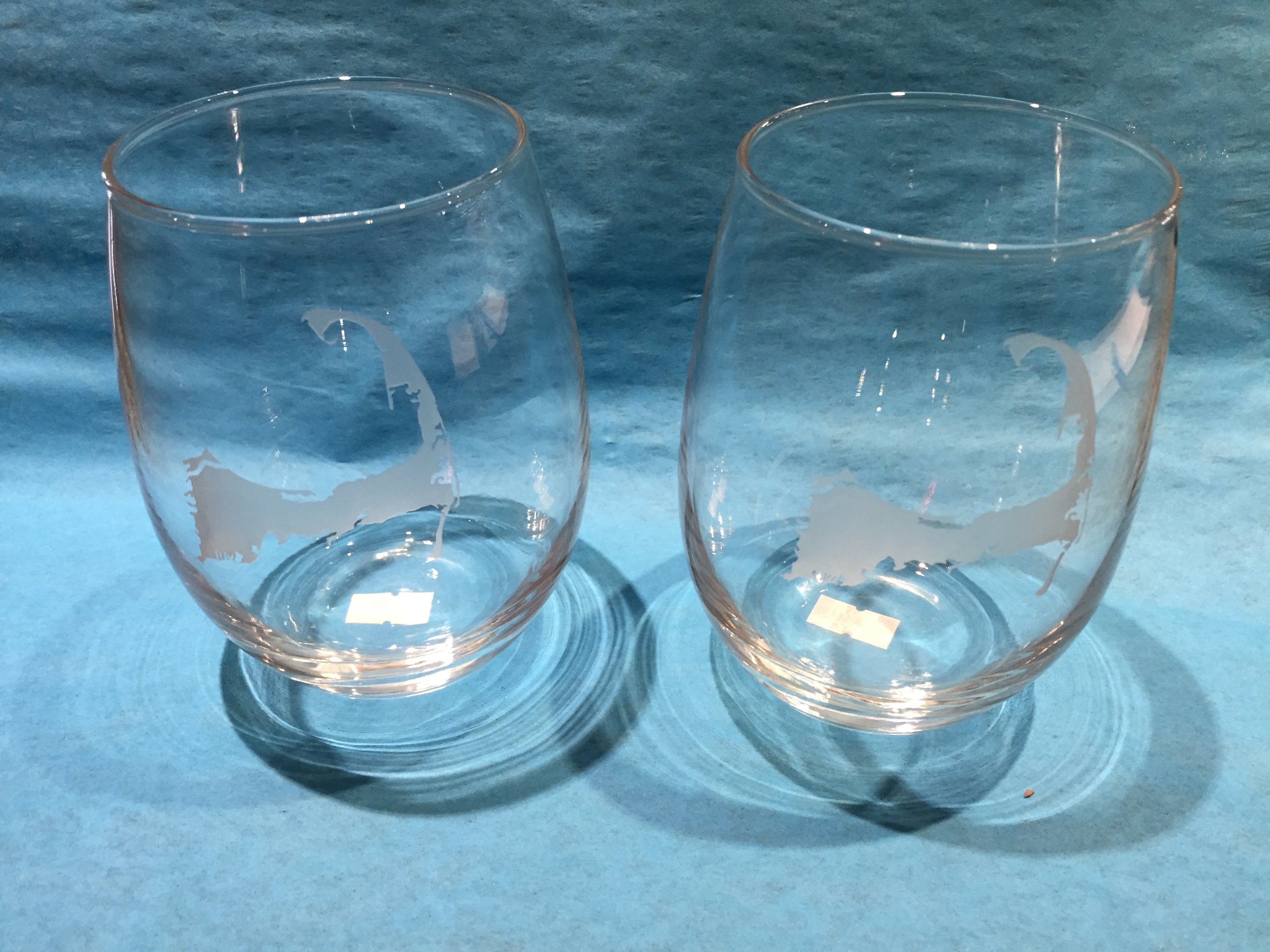 Cape Cod Stemless 21 Oz. Wine Glasses -Set of 4 00015