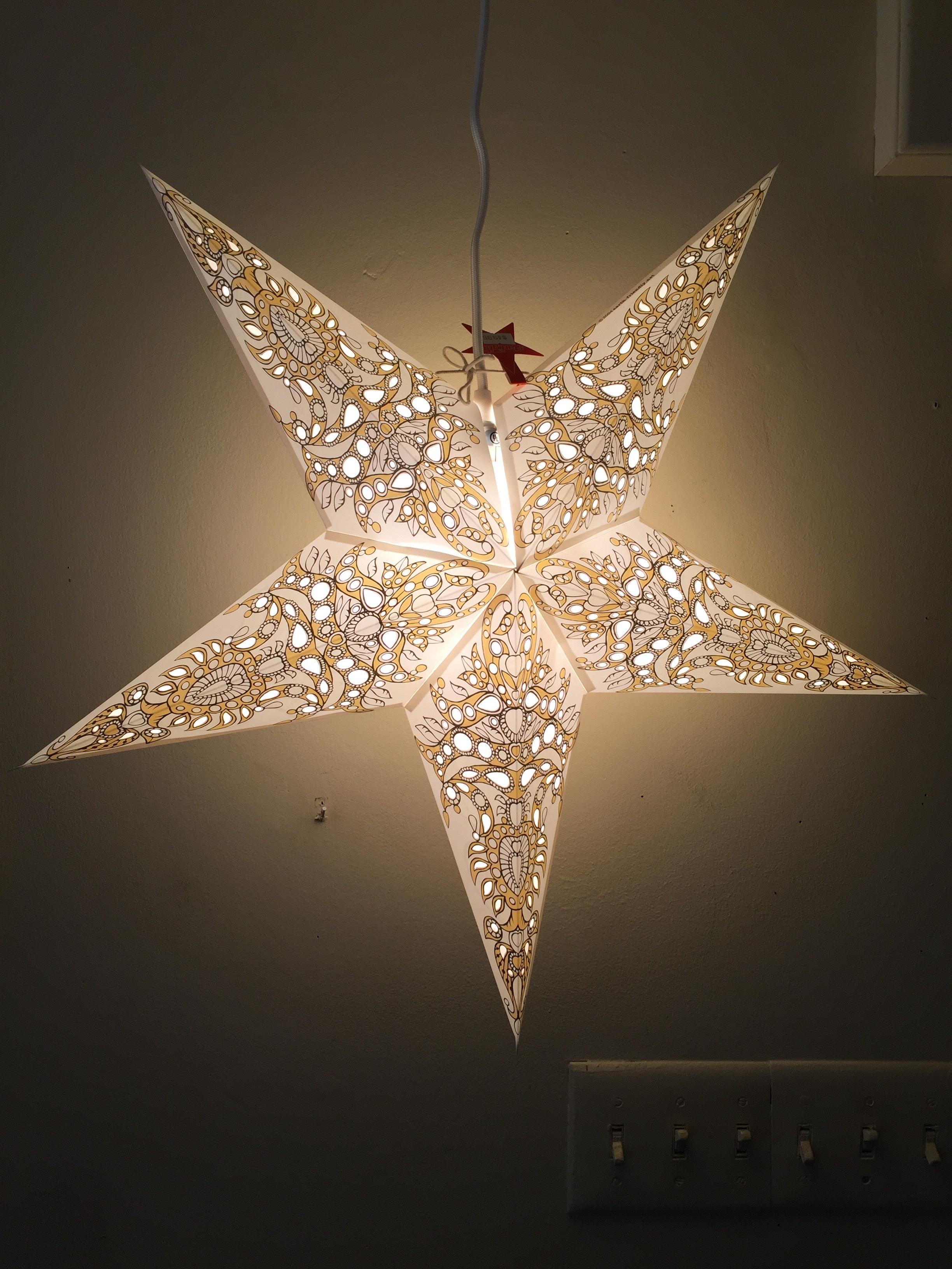 White Pax Star 00025