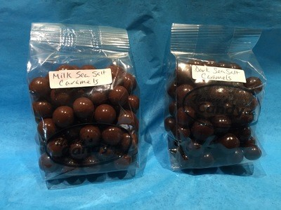 Sea Salt Caramel Balls 8 Oz. Bag