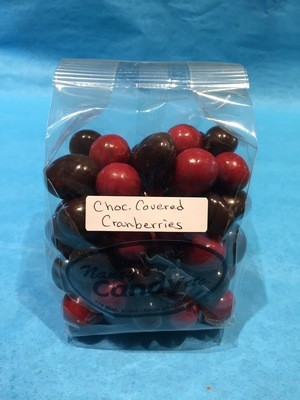 Chocolate Covered Cranberry Candy