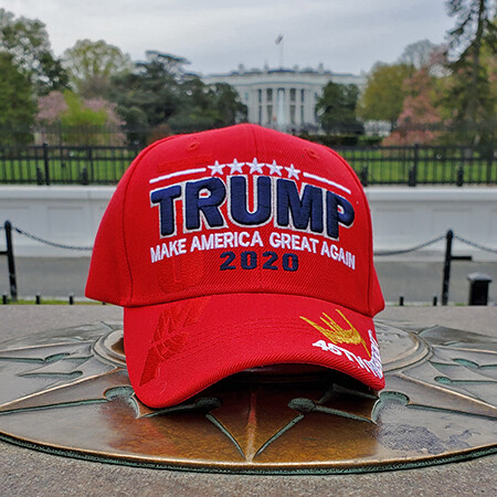 Trump Make America Great Again 2020 Red Baseball Hat