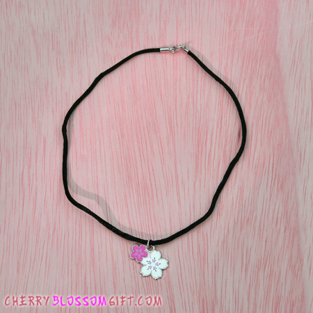 Gifts - Cherry Blossoms - Charm Necklace