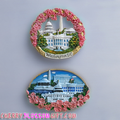 Gifts - Cherry Blossoms - Magnet Set of 2