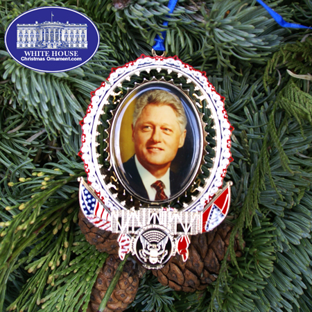 "Ornaments - President William ""Bill"" Clinton"