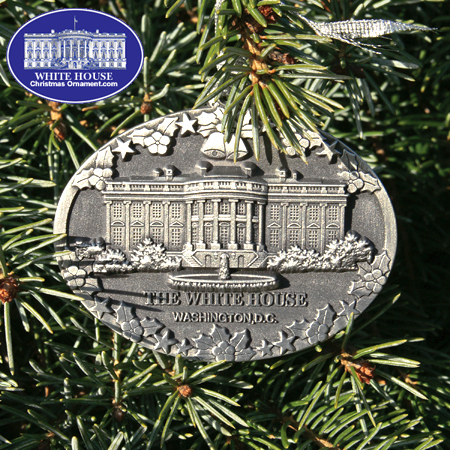 Ornaments - Pewter - The White House