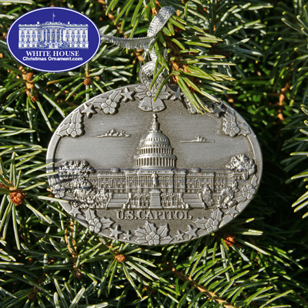 Ornaments - Pewter - The U.S Capitol