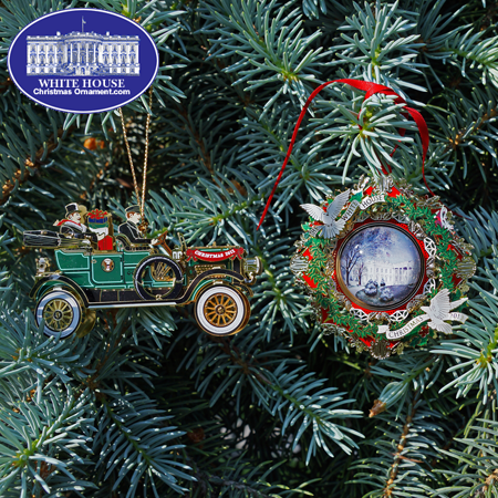 Ornaments - White House 2013 Gift Set (2012 + 2013)
