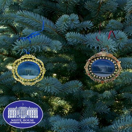 Ornaments - WDC Series - 2010 NORTH & SOUTH PORTICO SET